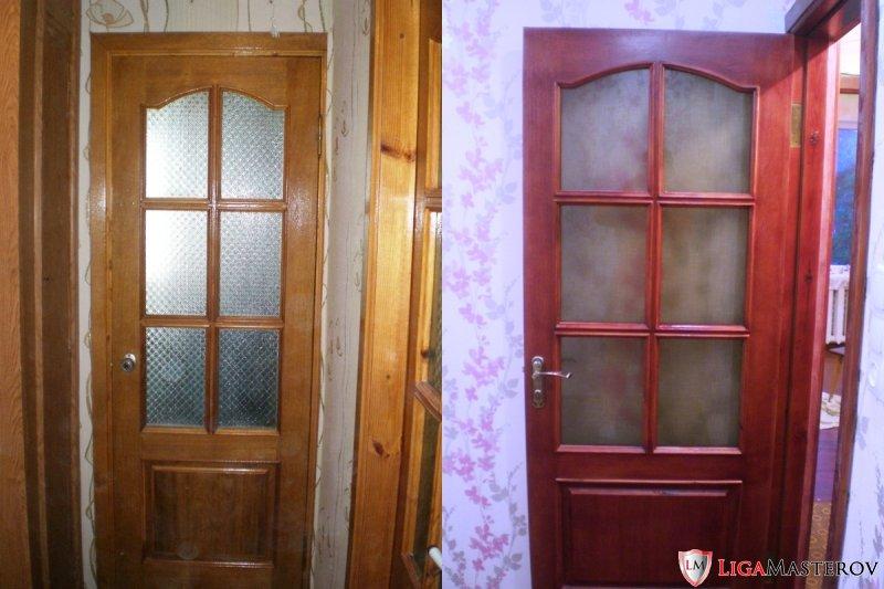 Как реставрировать деревянную дверь