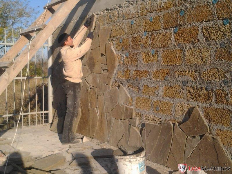 Кладка дагестанского камня своими руками 95