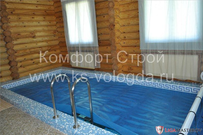 Отделка строительство бани