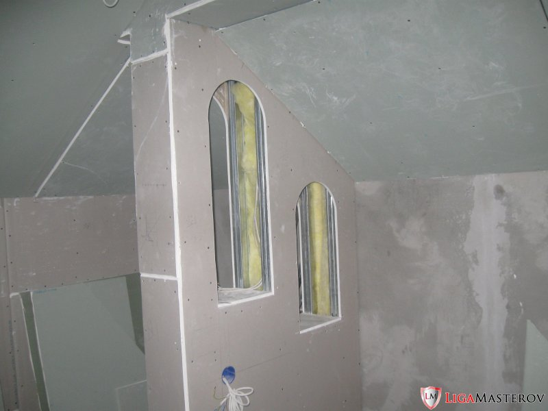 Стены из гкл своими руками мастер класс 79