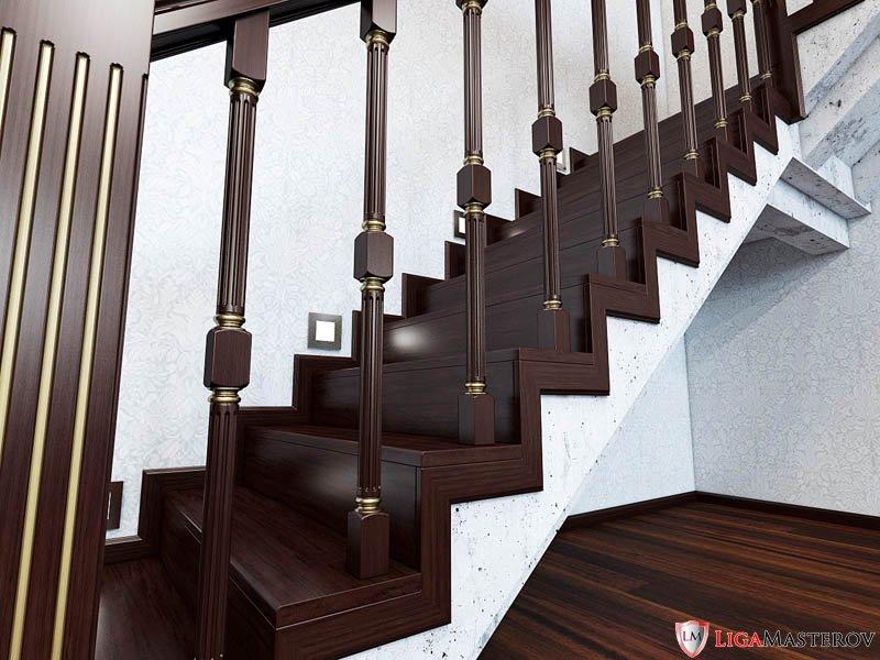 Лестницы в частный дом фото