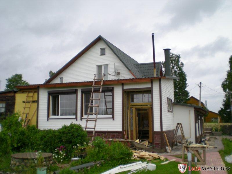 Пристрой веранда к деревянному дому своими руками