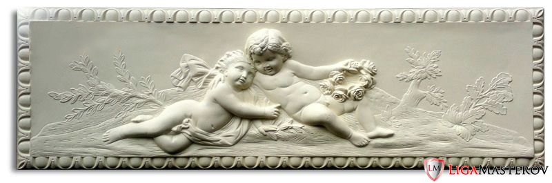 Ангелки с гипса своими руками