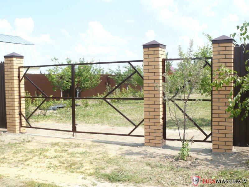 Каркас ворот и калитки