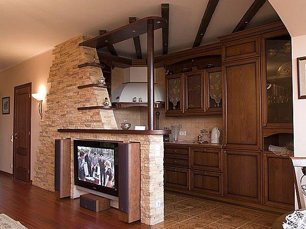 Оригинального дизайна квартиры