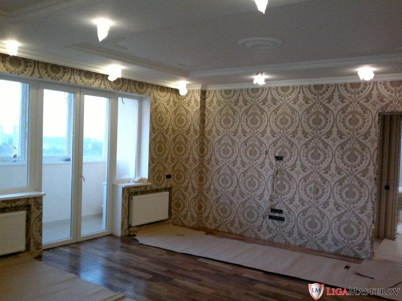 Фото Трех комнатная с перепланировкой под ключ Приход Олег Вадимович Киев
