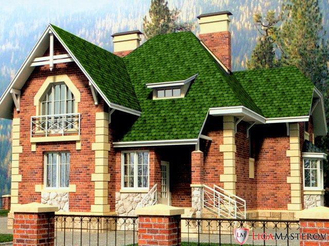 Стоимость подготовки компьютерной модели Вашего дома в реальных материалах фасада 7... ПРОЕКТЫ ДОМОВ И КОТТЕДЖЕЙ.